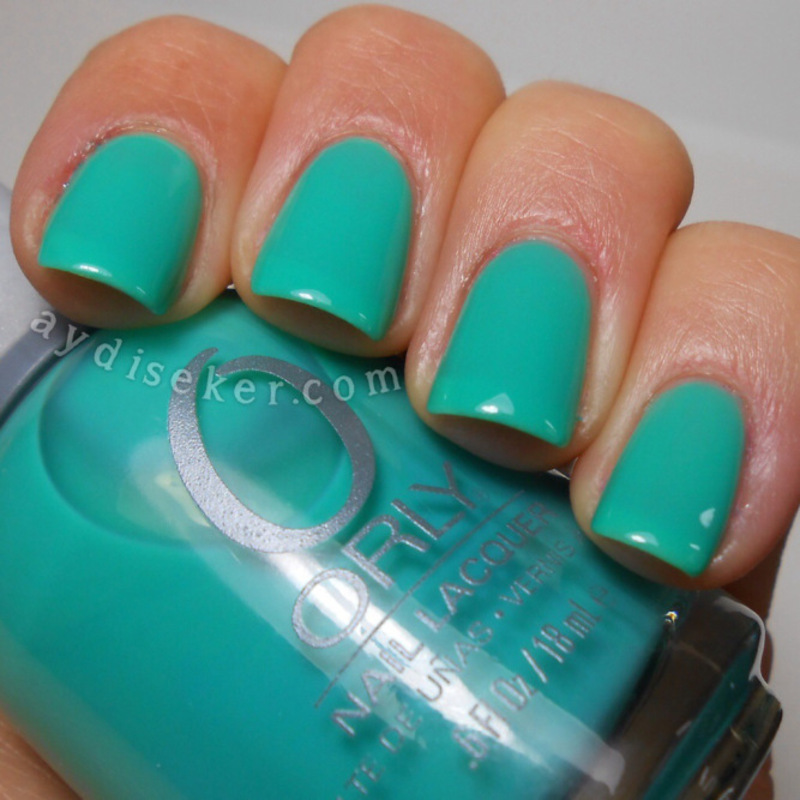 Orly Green With Envy Swatch by Aydi Seker