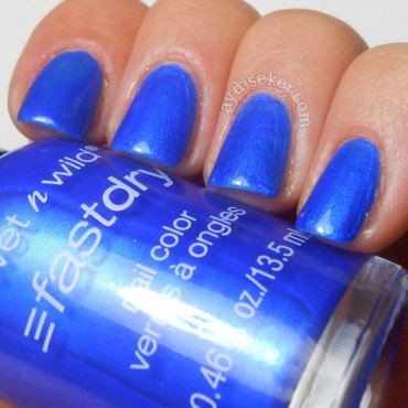 Wet n' Wild Saved by The Blue Swatch by Aydi Seker