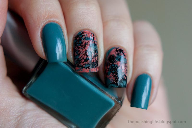 Water Spotted Nails nail art by Alena Belozerova