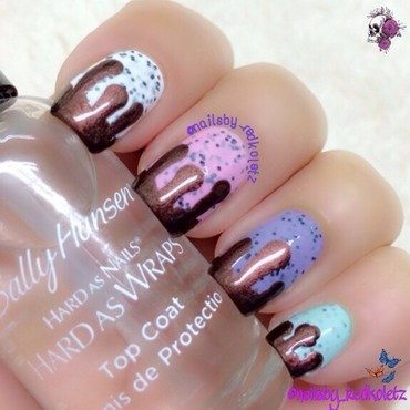 Icecream fun! nail art by MD Nav