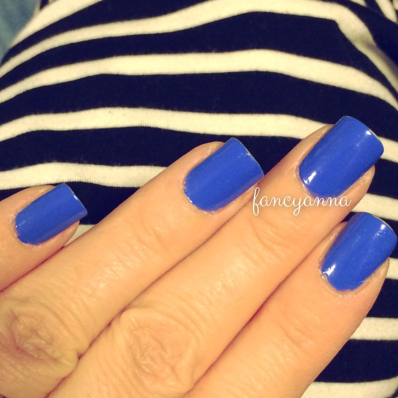 Sally Hansen Pacific Blue Swatch by Anna-Maria D