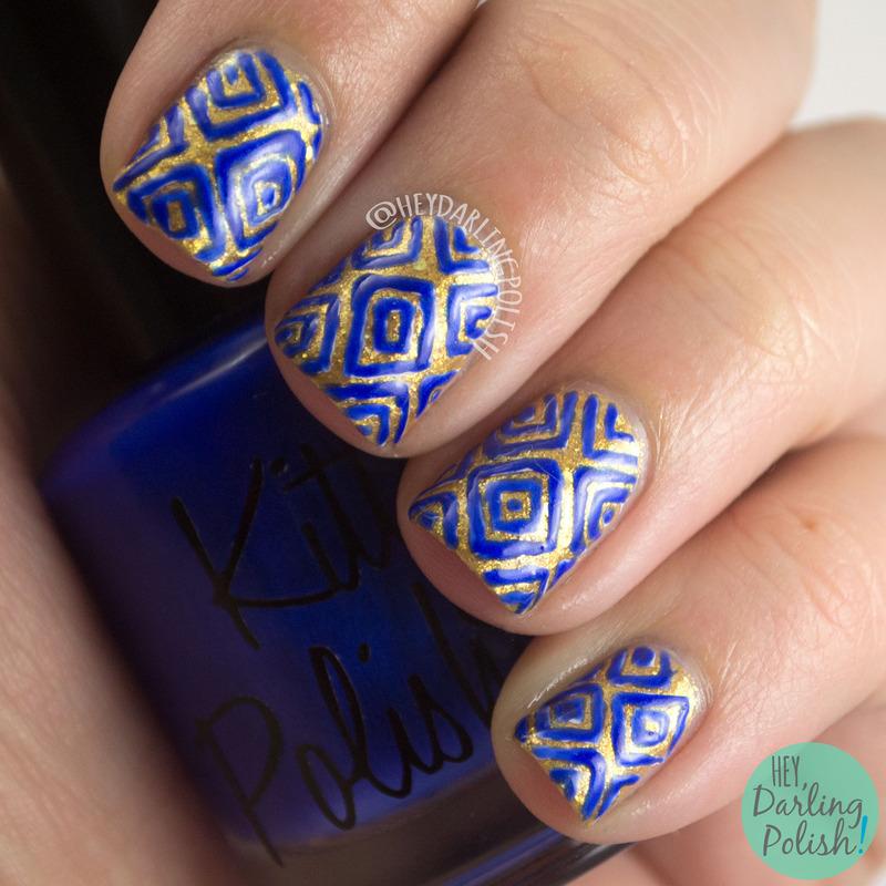 Geometrics nail art by Marisa  Cavanaugh