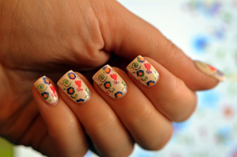 Folklore Nails nail art by 9th Princess