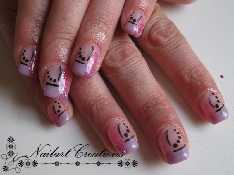 Glitter Fun! nail art by Nailart Creations