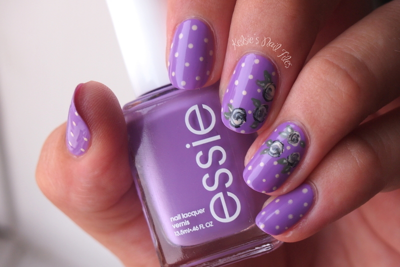 Polka Dot Play Date nail art by Kelsie