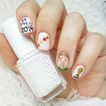 World Cup Winner: Germany nail art by froschstuetzpunkt