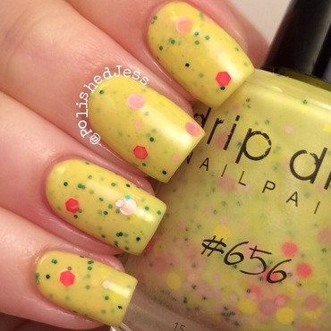 Drip Drop Nail Paint 656 Swatch by PolishedJess