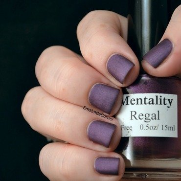 Mentality regal Swatch by Emma B
