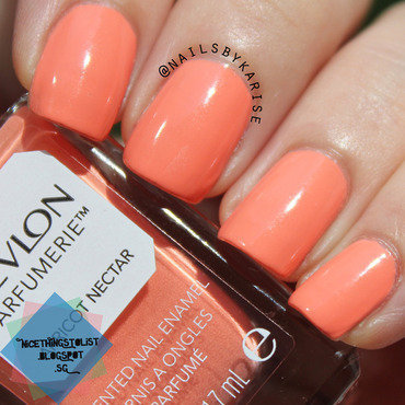 Revlon apricot nectar swatch outdoors thumb370f