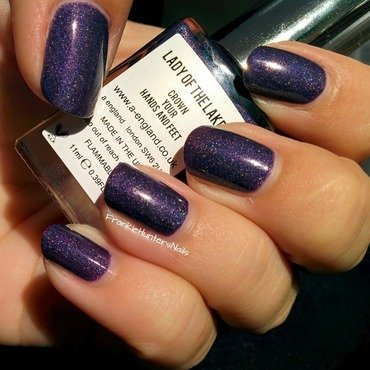 A-England Lady of the Lake Swatch by Franziska FrankieHuntersNails
