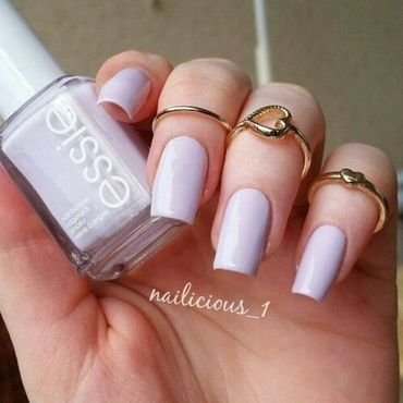 Essie go ginza Swatch by nailicious_1