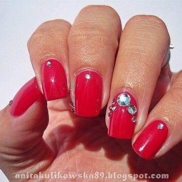 Like a diamond.... nail art by Anita