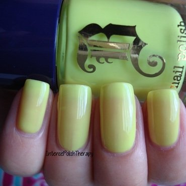 Brash Pineapple Party Swatch by IntensePolishTherapy Anita