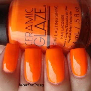 Ceramic Glaze Solar Radiance Swatch by IntensePolishTherapy Anita