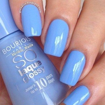 Bourjois Adora-Bleu Swatch by Giovanna - GioNails