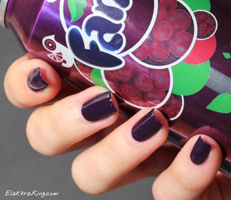 OPI A Grape Affair Swatch by Elektra King