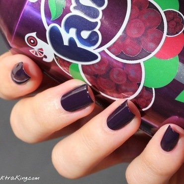 OPI A Grape Affair Swatch by Elektra King