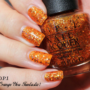 OPI Orange You Fantastic! Swatch by Elektra King