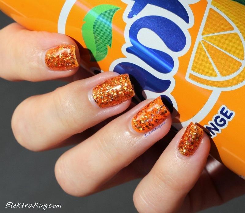 OPI Orange You Fantastic! Swatch by Elektra King