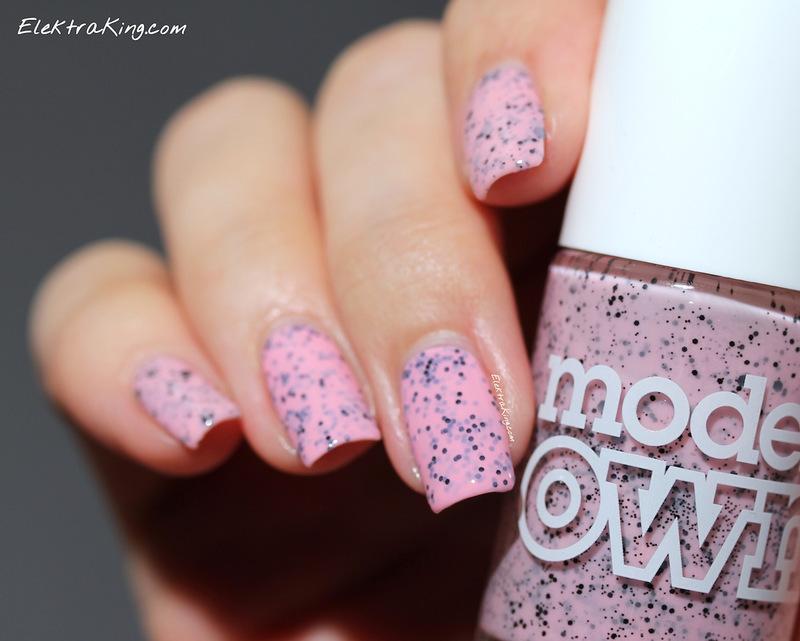 Pink Robin Eggs nail art by Elektra King