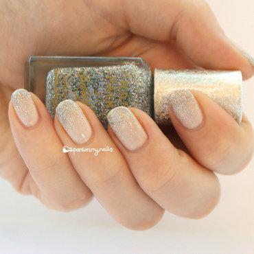 Glitter Gradient nail art by Pardon My Nails