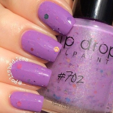 Drip Drop Nail Paint Prototype 702 Swatch by PolishedJess