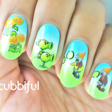 Plants vs zombies born pretty store review gradient waterdecals 4 thumb370f