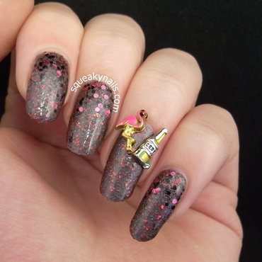 Vegas Wedding  nail art by Squeaky  Nails