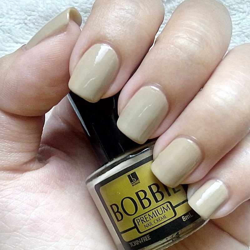 Bobbie Touch of Beige Swatch by Judy Ann Chio