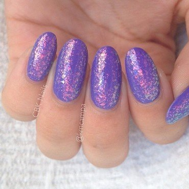 Essie Shine of the Times and Wet n Wild Megalast On A Trip Swatch by Kasey Campa
