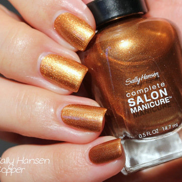 Sally Hansen Copper Swatch by Elektra King