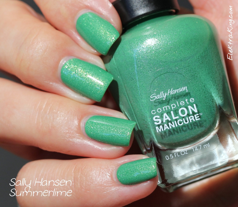 Sally Hansen Summerlime Swatch by Elektra King