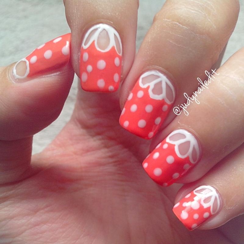 Petals nail art by Judy Ann Chio