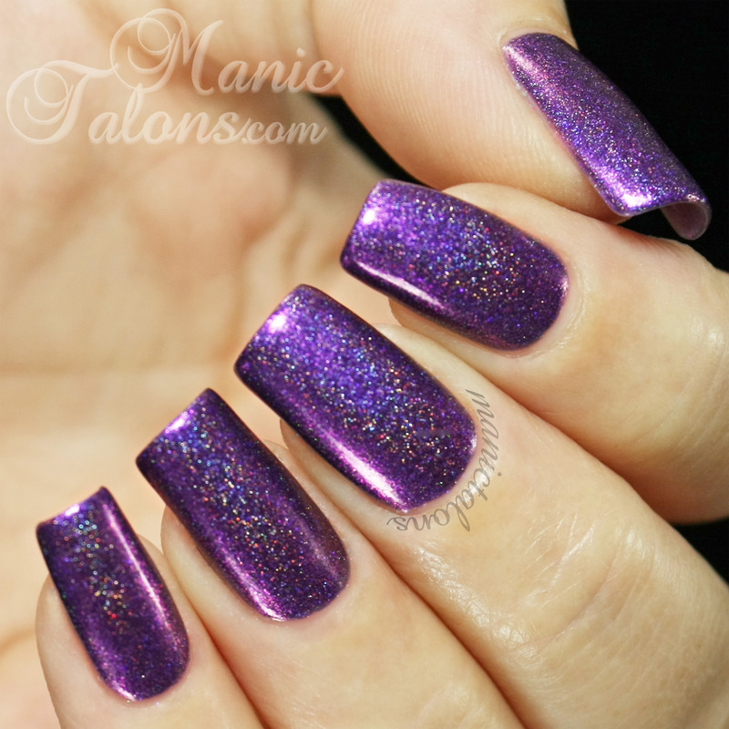 Glam Polish Witching Hour Swatch by ManicTalons