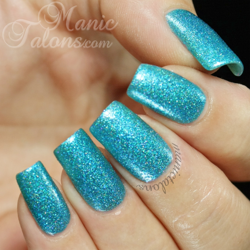 Glam Polish Bye Bye Baby Swatch by ManicTalons