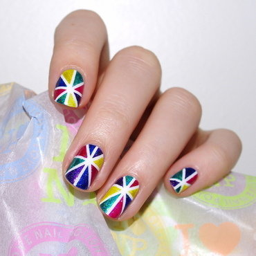 Colours! nail art by Bulleuw