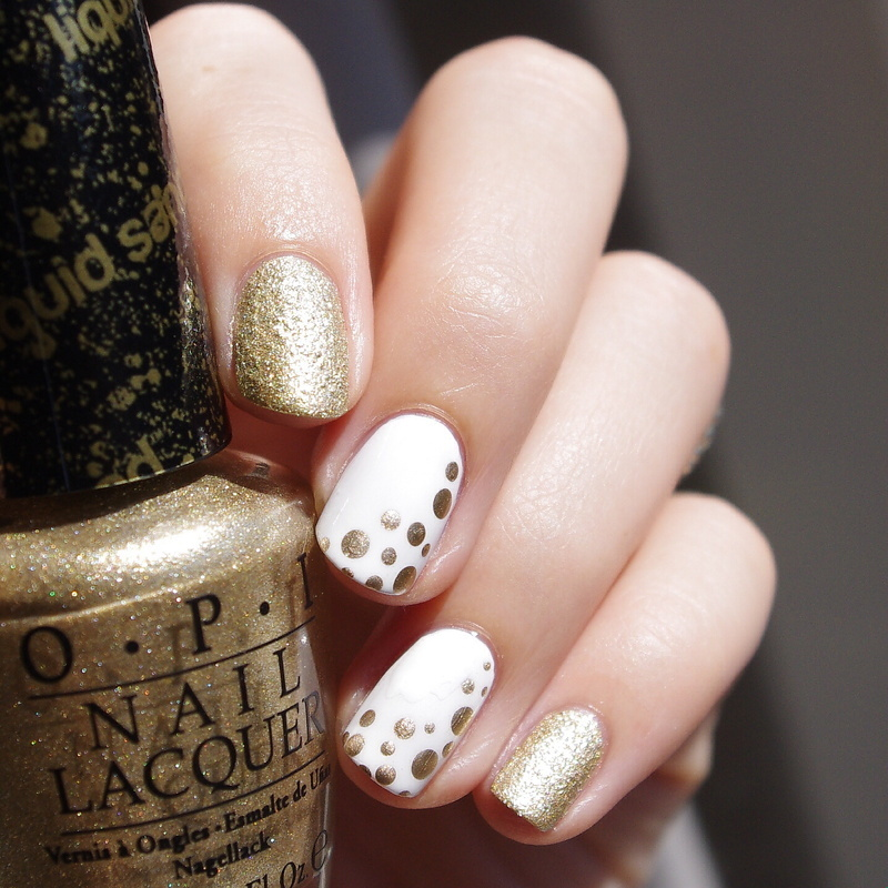 Simple nail art nail art by Bulleuw