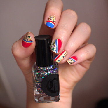 4th July nail art by Bulleuw