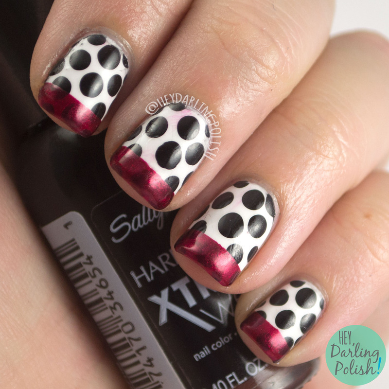 Fashion Dots nail art by Marisa  Cavanaugh