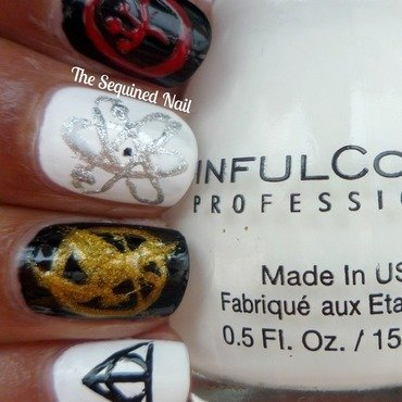 Lacquer Legion - Fandom nail art by TheSequinedNail