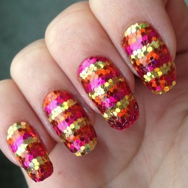 Sparkly Easter Eggs! nail art by Sparkly Nails by Spejldame