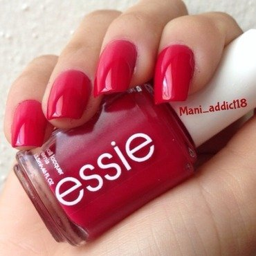 Essie She's Pampered Swatch by S.M.R