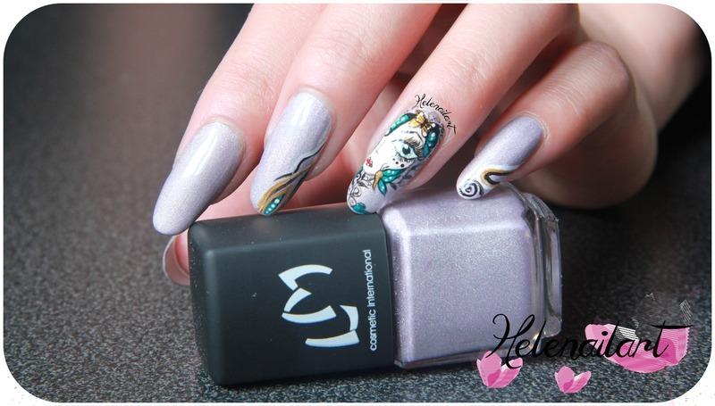 Yulina nail art by LÊ Hélène