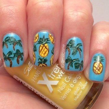 Palmtrees pineapples thumb370f
