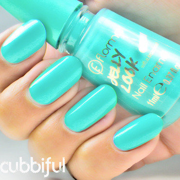 Swatch flormar jl10 turquoise green thumb370f