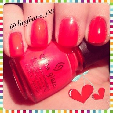 China Glaze Pool party Swatch by Sandy