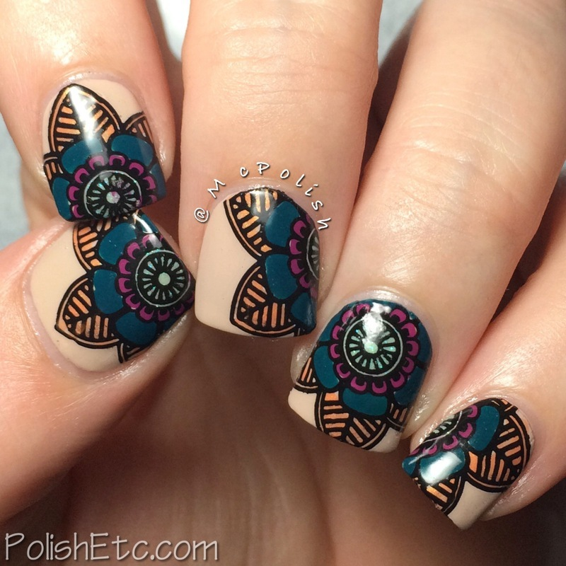 Happy Birthday Indie500nails Mani! nail art by Amy McG