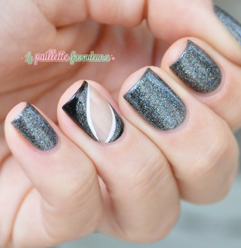 New year nails nail art by nathalie lapaillettefrondeuse