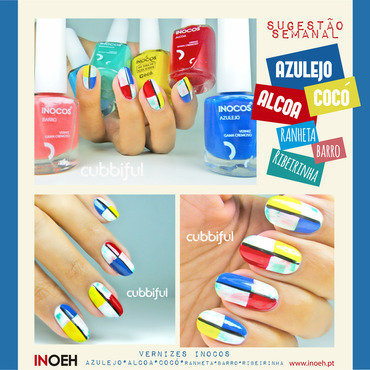 Inoeh Gets Artsy nail art by Cubbiful