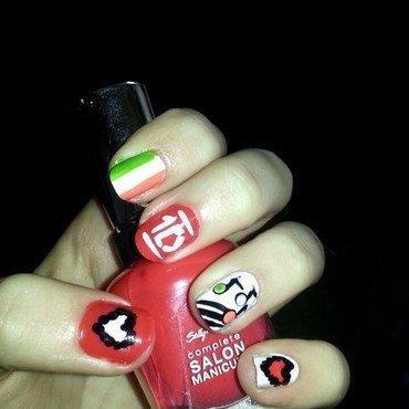 1D nails nail art by Ciara Donoghue